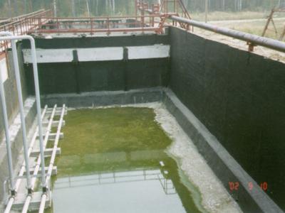 Капитальный ремонт очистных сооружений