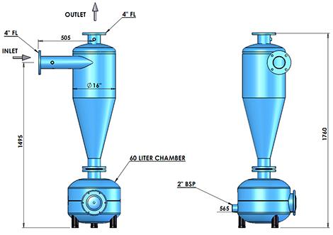Сепаратор гидроциклон для воды своими руками